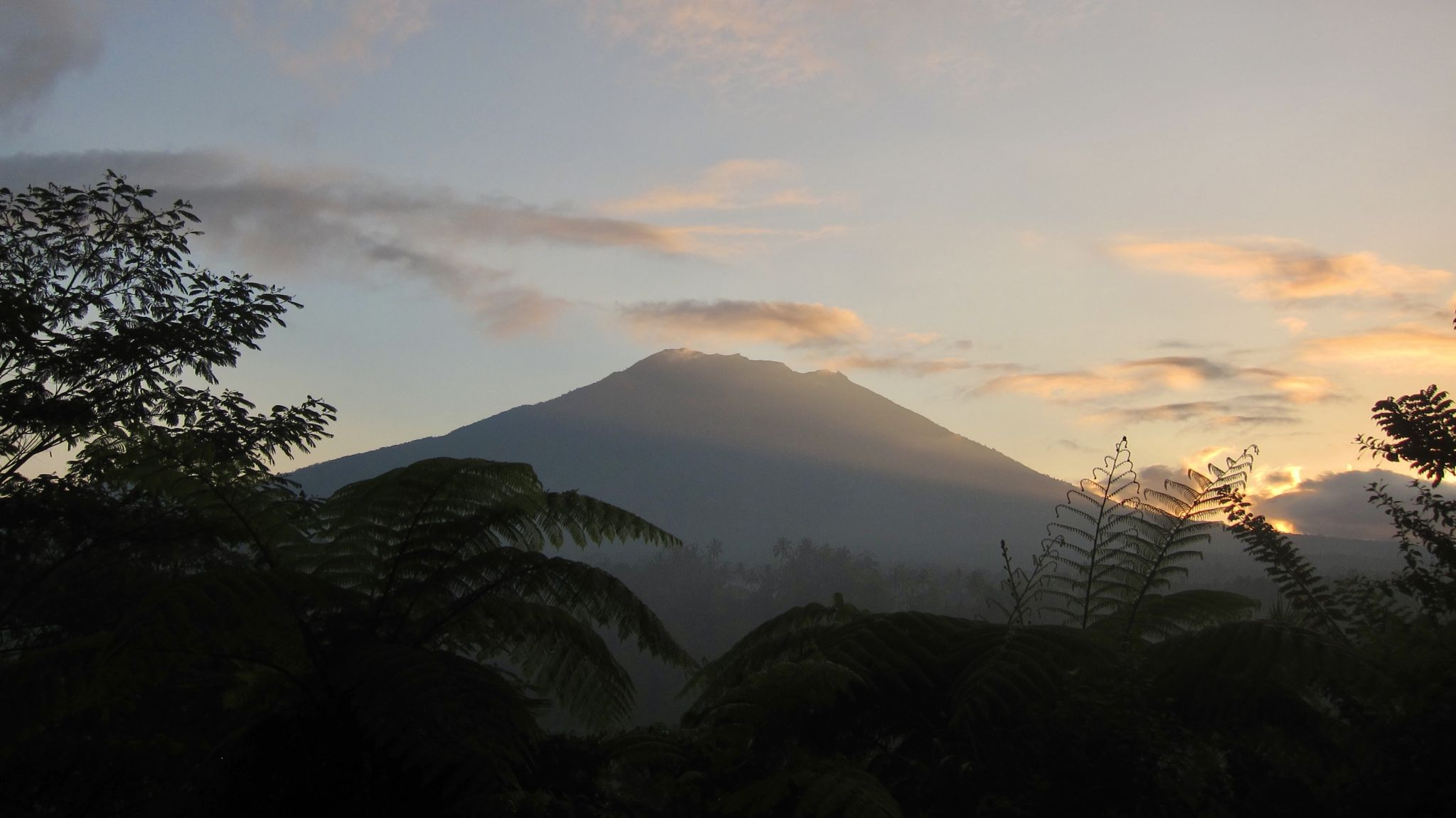 Mt. Agung from Mahagiri Panoramic Resort & Restaurant, Indonesia