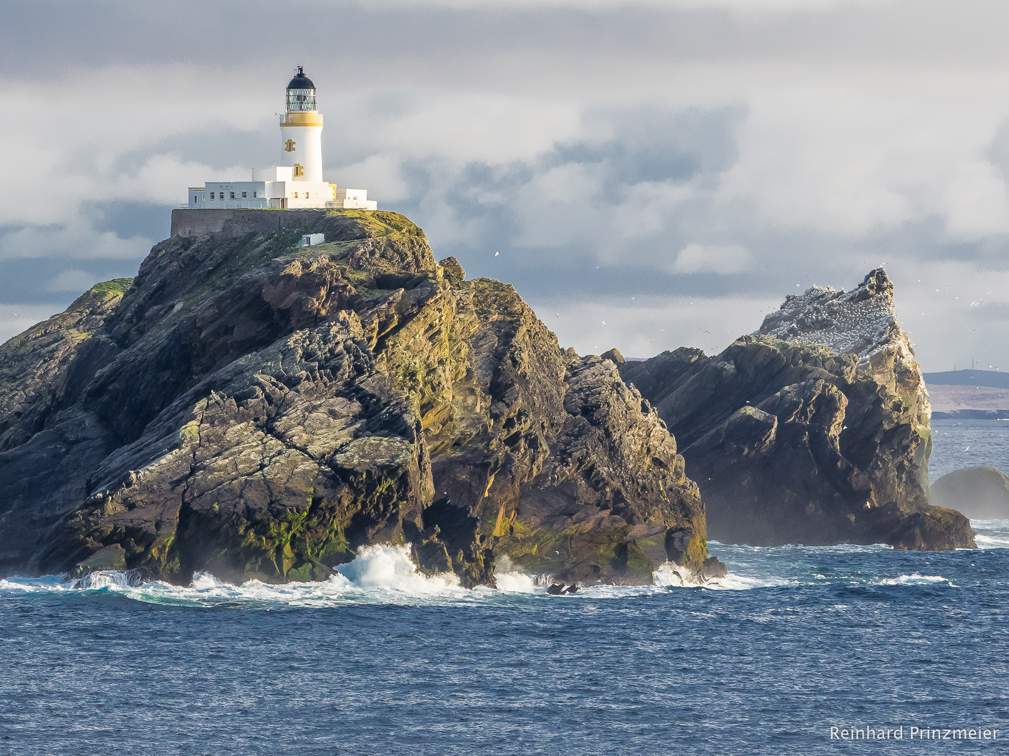 Muckle Flugga lighthouse, United Kingdom