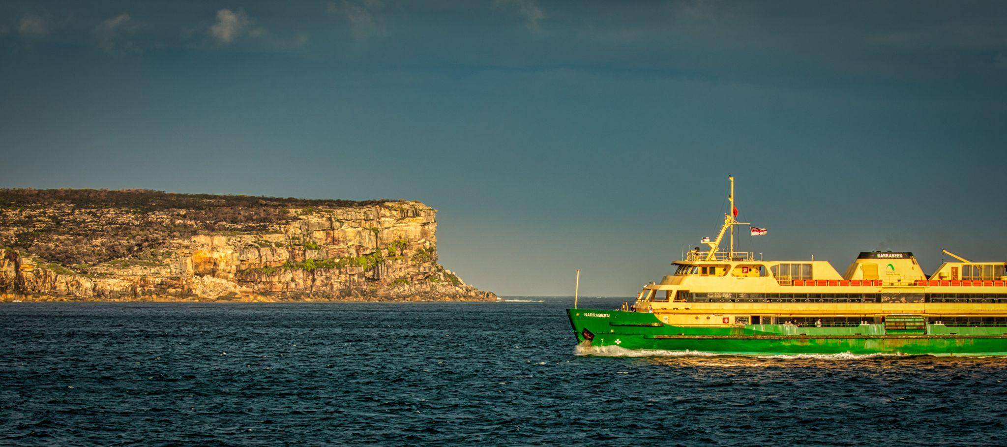 North Head & Ferry Sydney Harbour Sydney, Australia