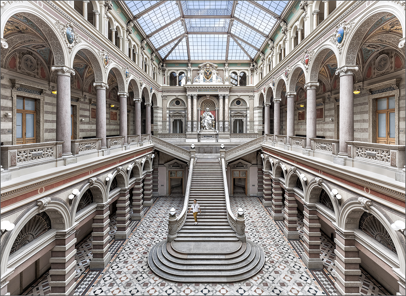Palace of Justice in Vienna, Austria