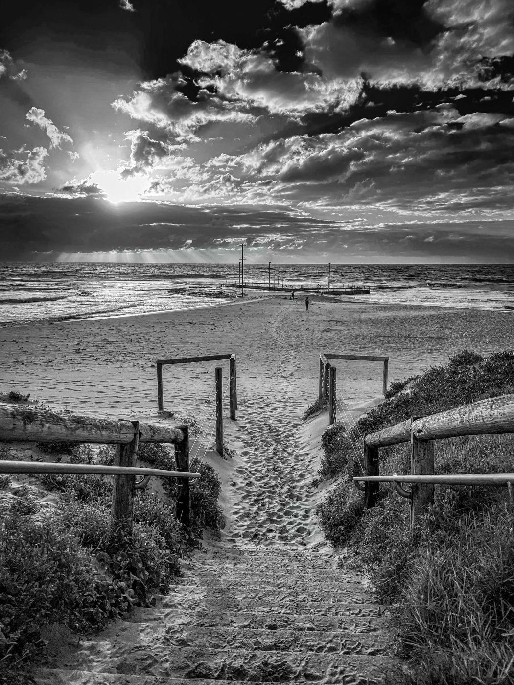 Pathway to the ocean Pool Mona Vale Sydney, Australia