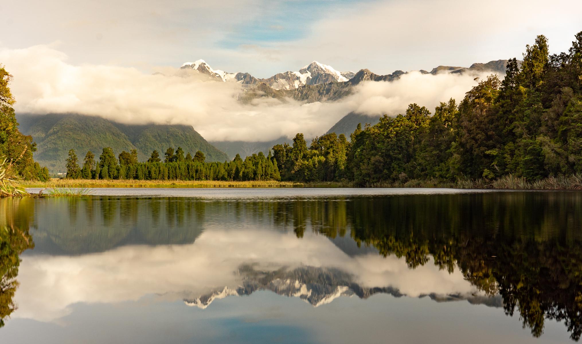 Reflection Island, New Zealand