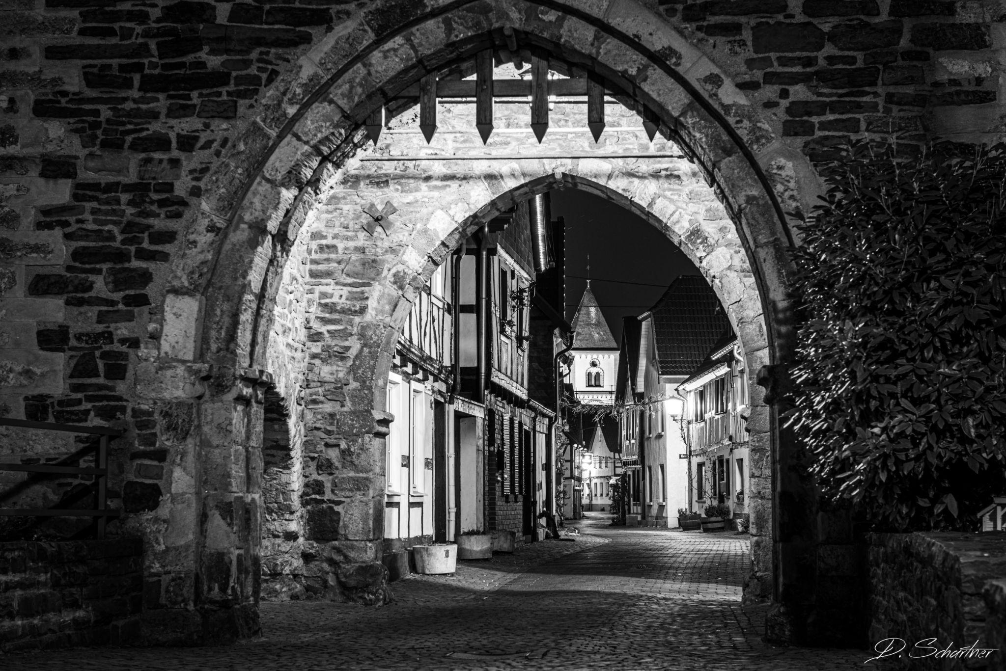 Stadttor Erpel, Germany