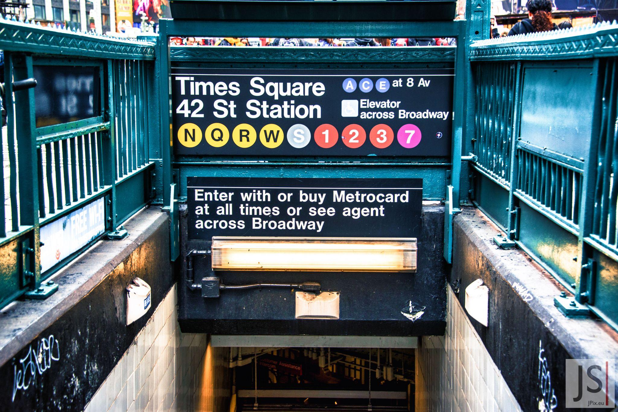 Times Square Metro Station, USA