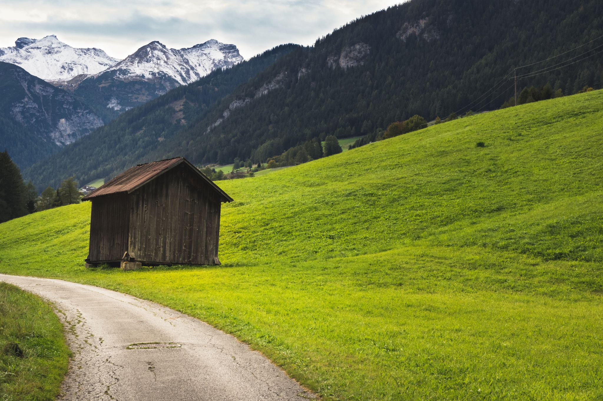 Austrian hayloft, Austria
