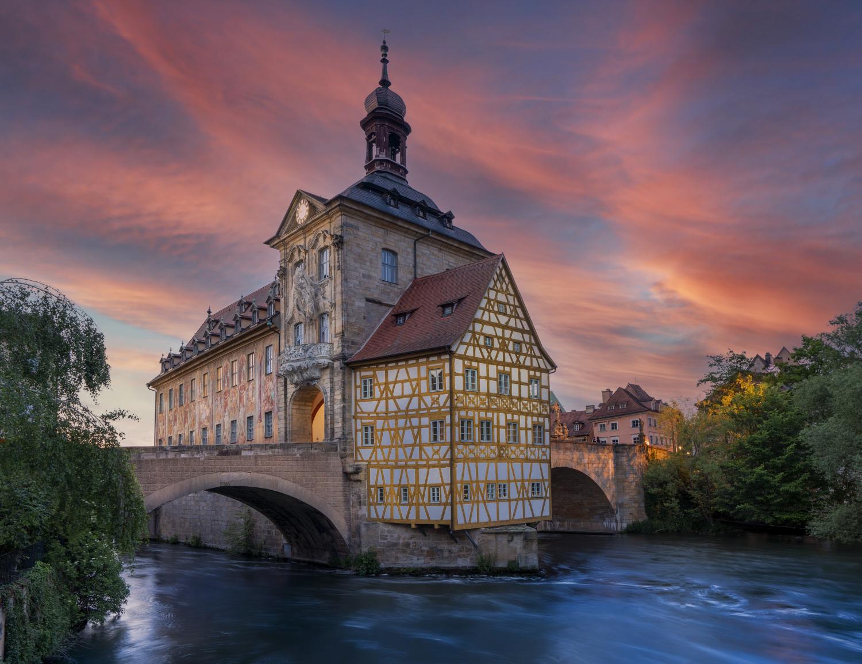 Historic Town Hall, Altes Rathaus Bamberg, Germany
