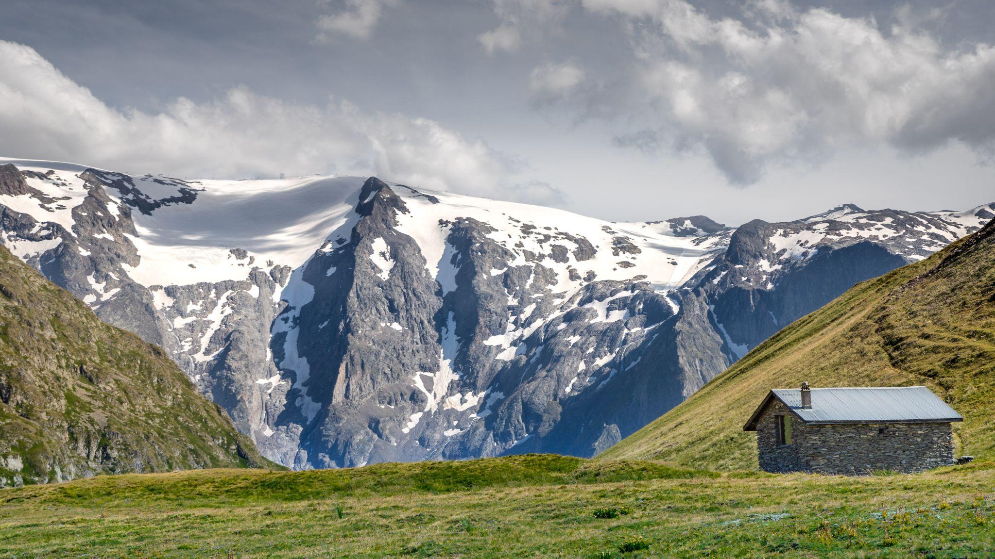 plateau d'emparis, massif des arves, France