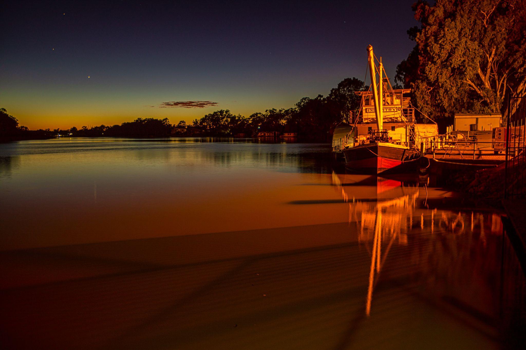 PS Industry sunrise Renmark South Australia, Australia