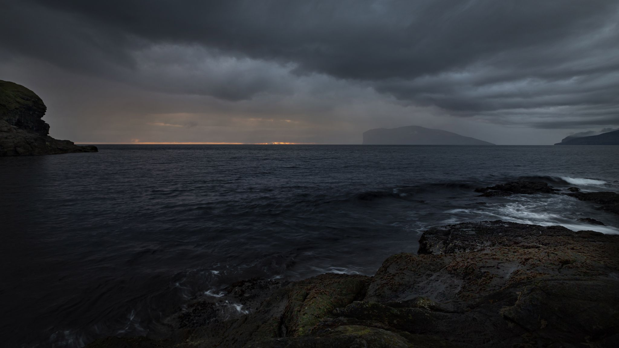 Vidareide Harbour, Faroe Islands