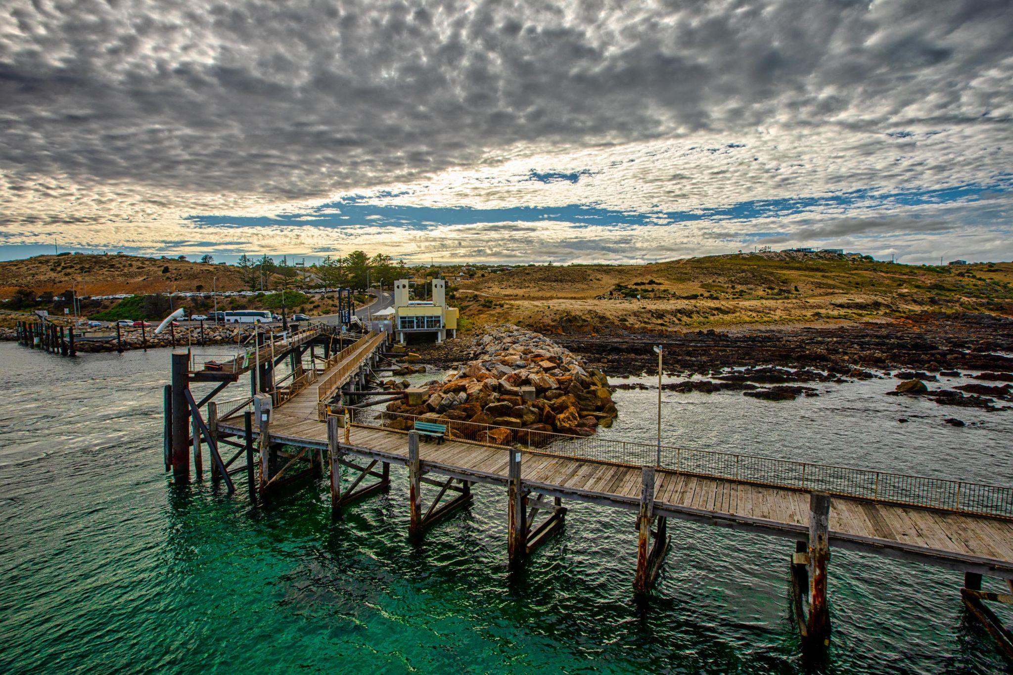 Cape Jervis Jetty, South Australia, Australia