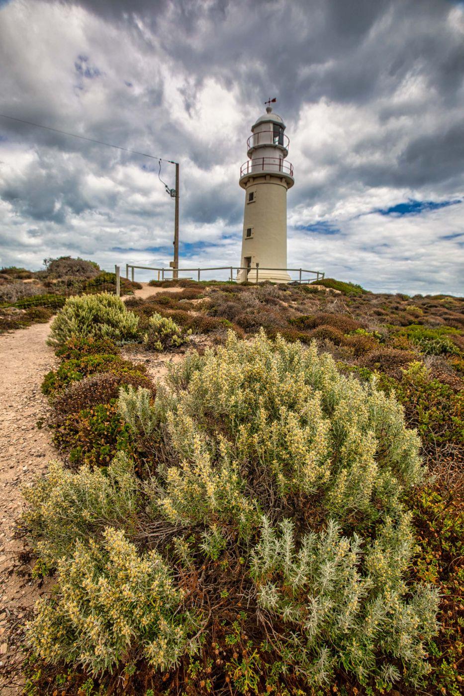 Corny Point Lighthouse, Yorke Peninsula, South Australia, Australia