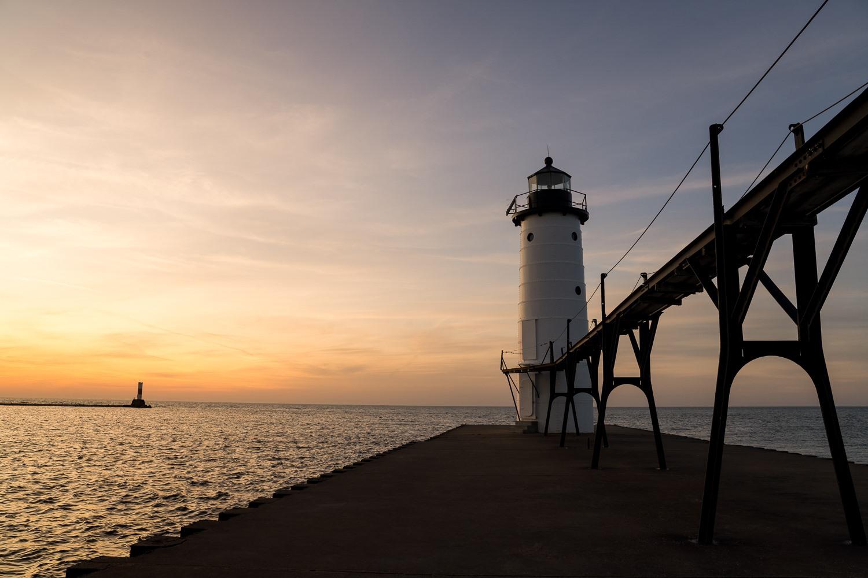 Manistee North Pier Head, USA