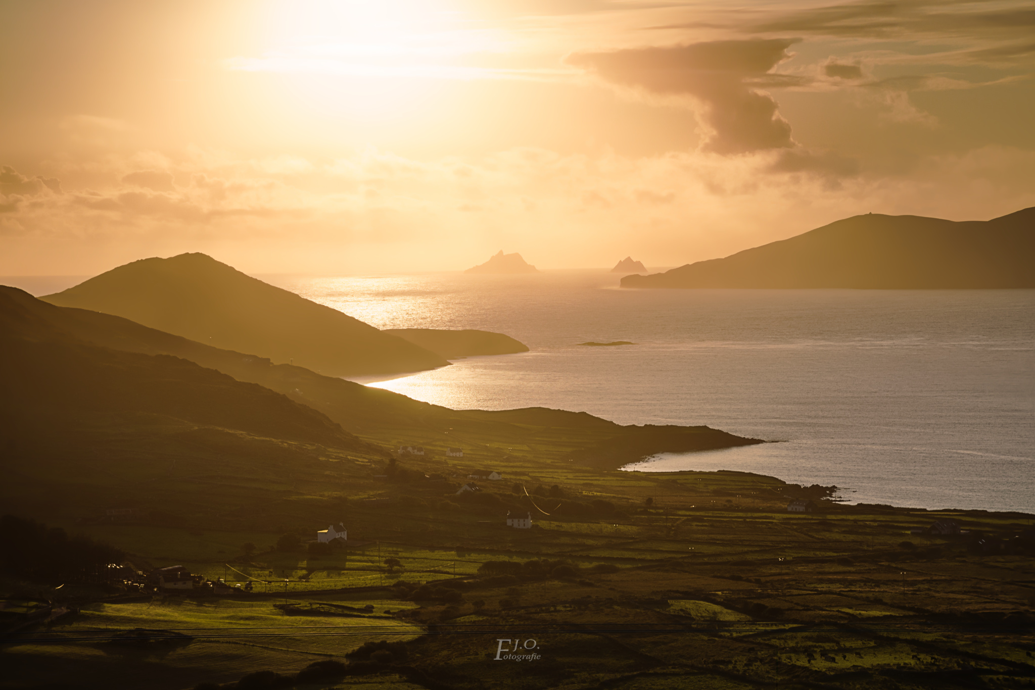 Ring of Kerry near Beenarourke, Ireland
