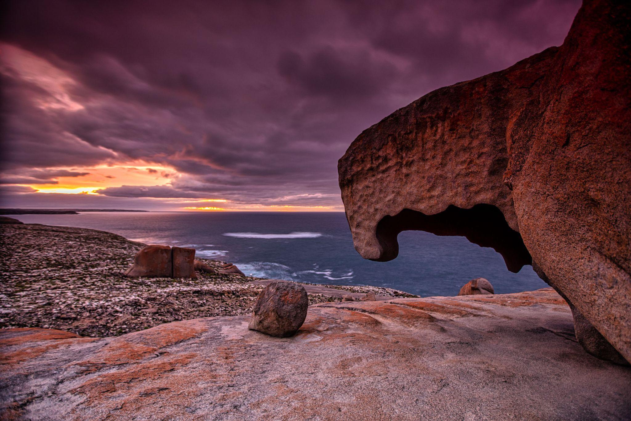 The Remarkable Rocks, 'Hook', Kangaroo Island, Australia