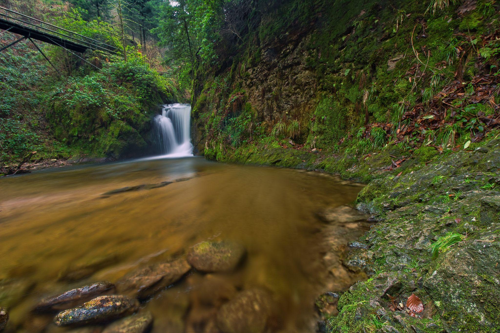 Waterfall Geroldsau, Germany