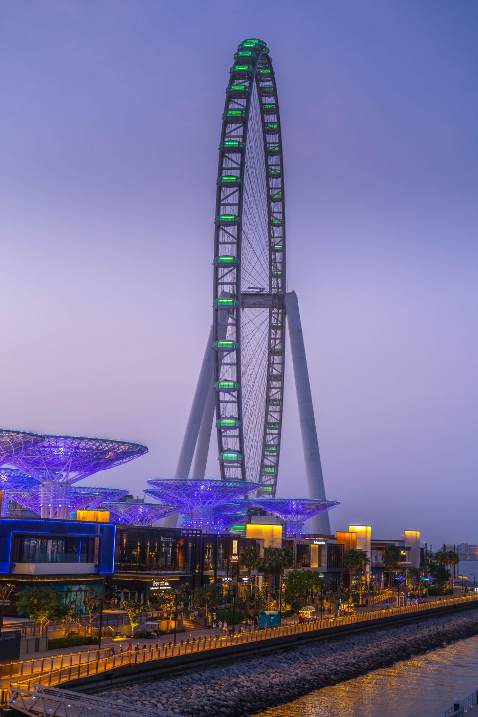 Ain Dubai- Blue water Island, United Arab Emirates