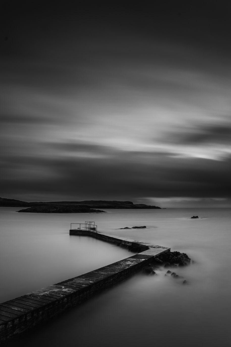 Cahermore pier, Ireland
