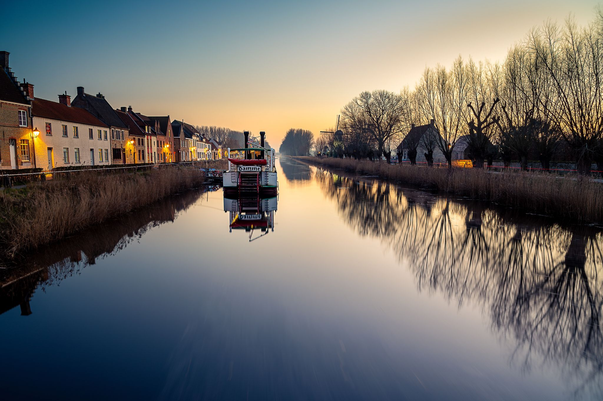 Damme Canal (boat), Belgium