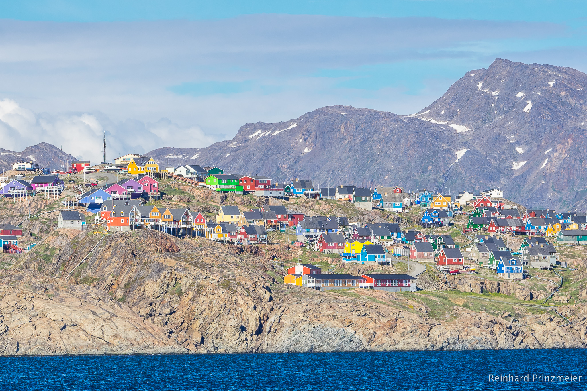 View to Sisimiut, Greenland