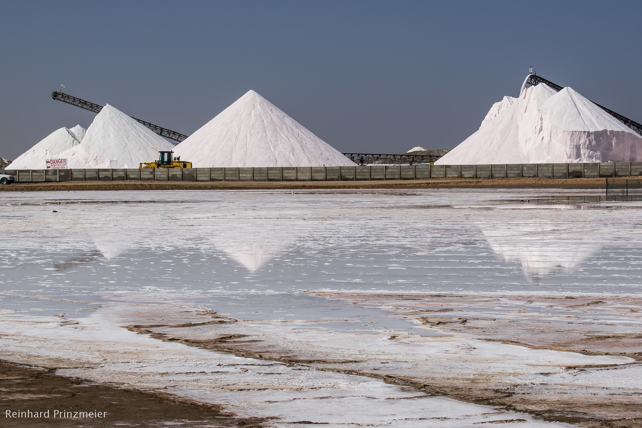 Walvis Bay Salt Works, Namibia