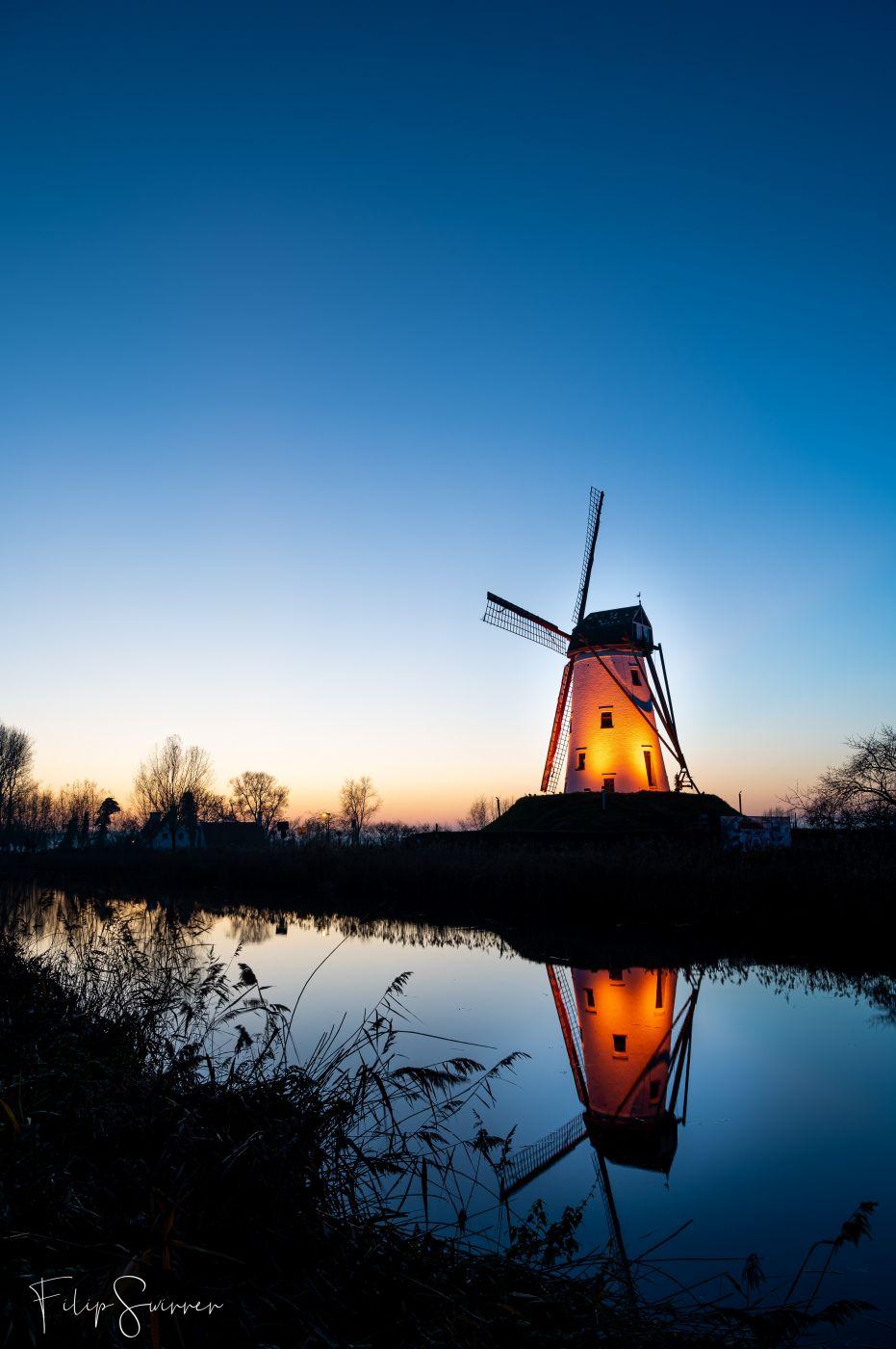 Windmill of Damme, Belgium