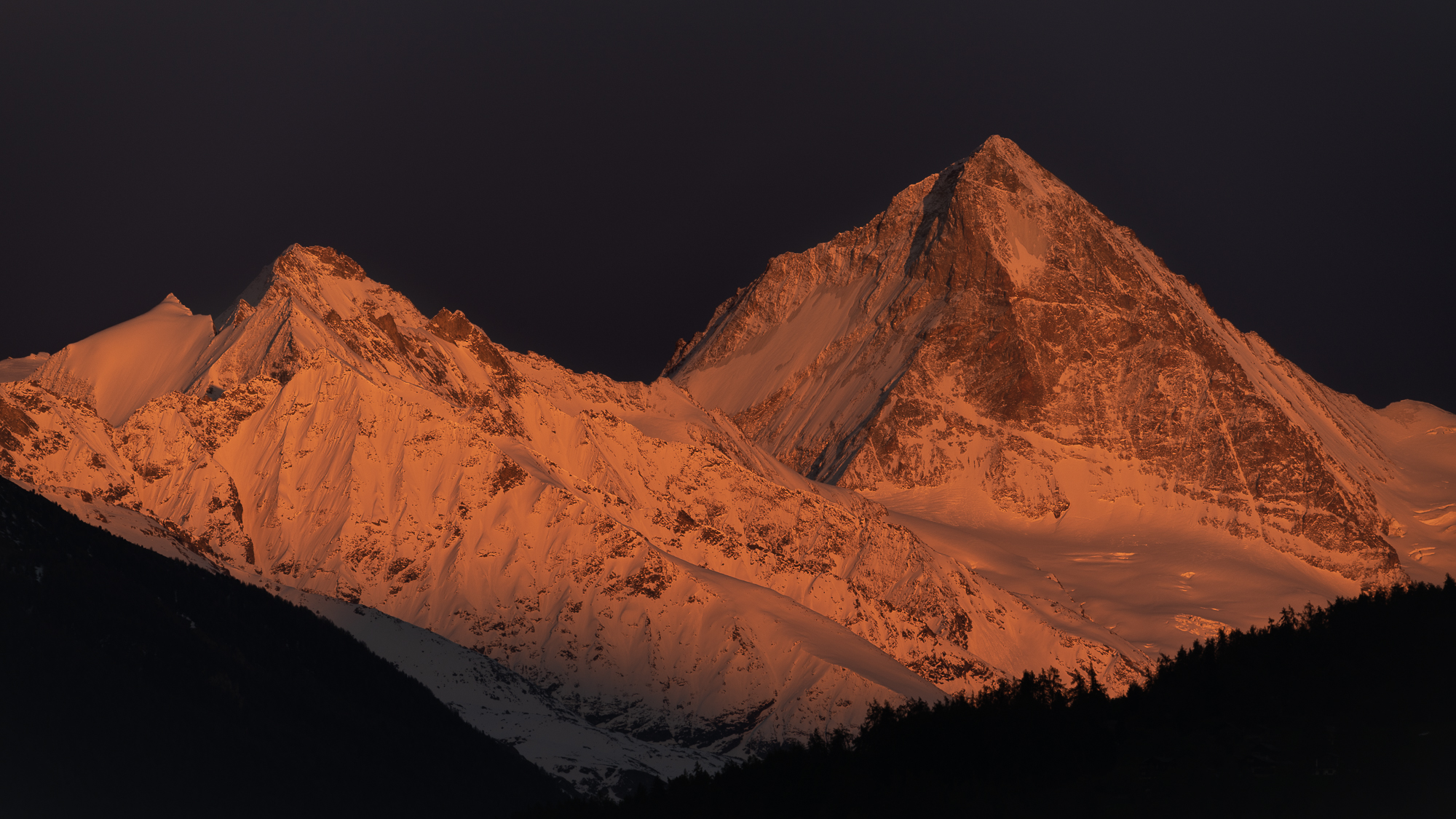 Dent Blanche from home, Switzerland