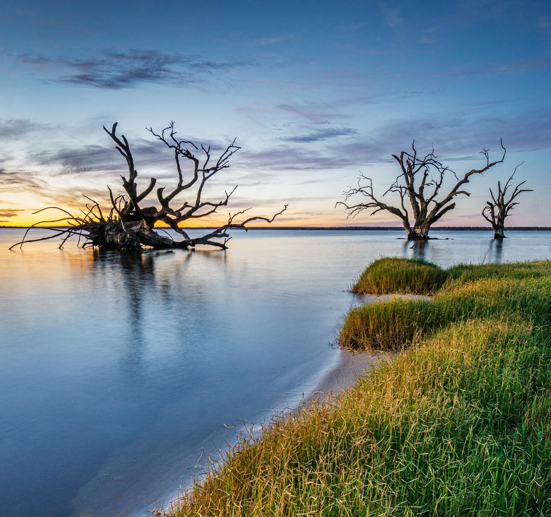 Lake Bonney Sunset, Australia