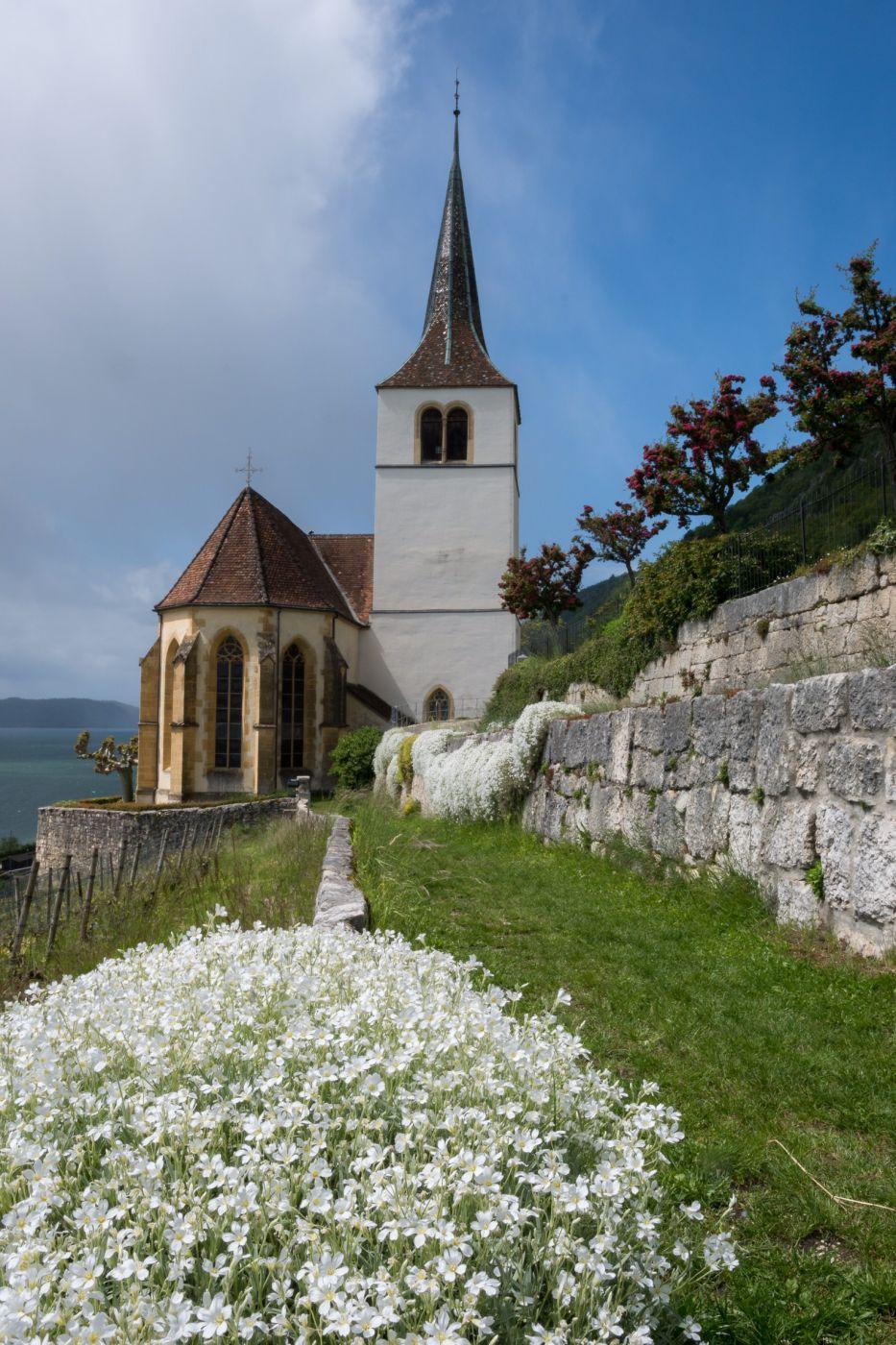 Ligerz church, Switzerland