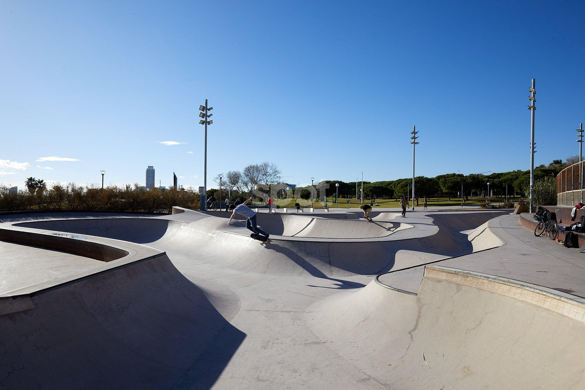 Skatepark Barcelona, Spain