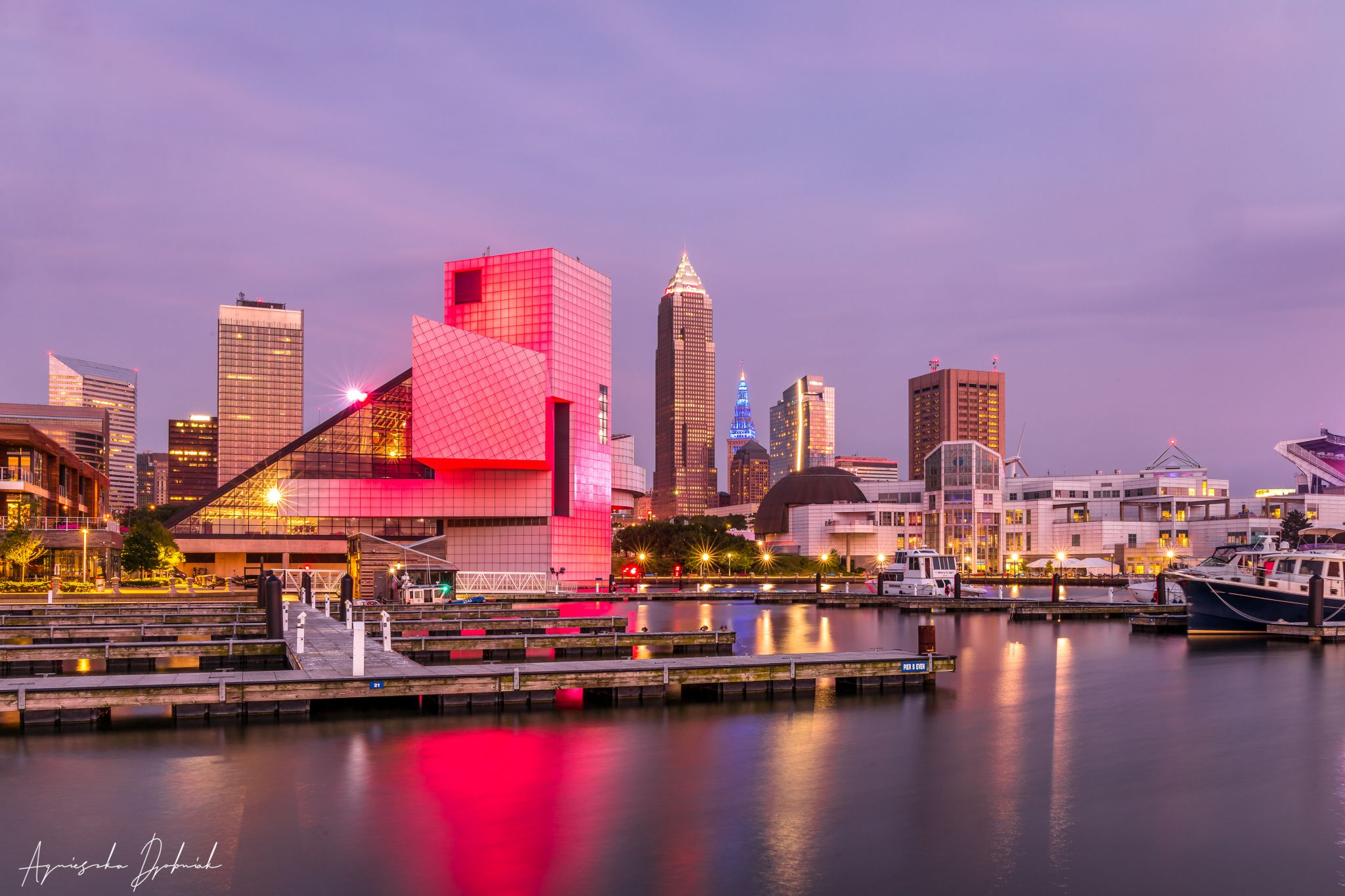 Cleveland North Coast Harbor, USA