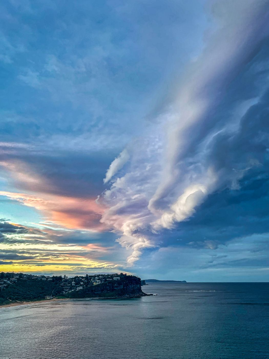 Cloud formation Bungan Headland, Mona Vale, Australia