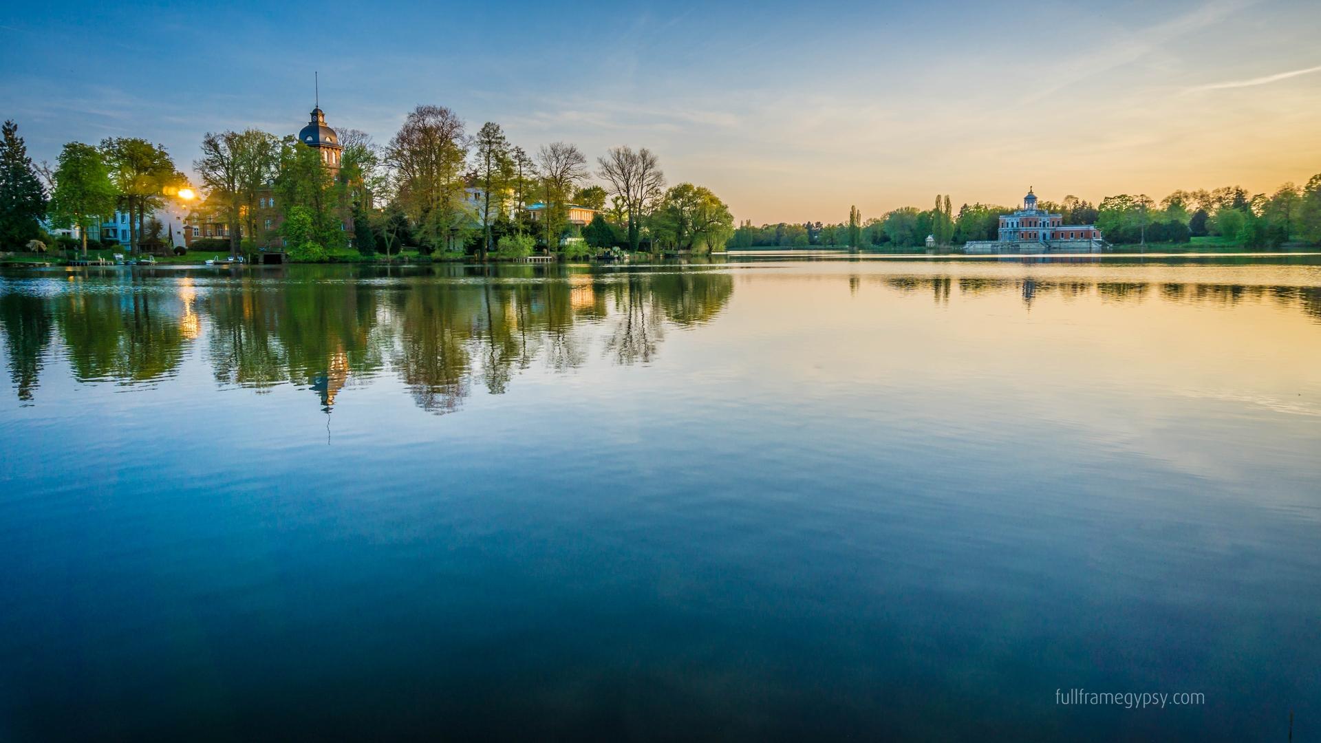 Holy Lake in Potsdam, Germany