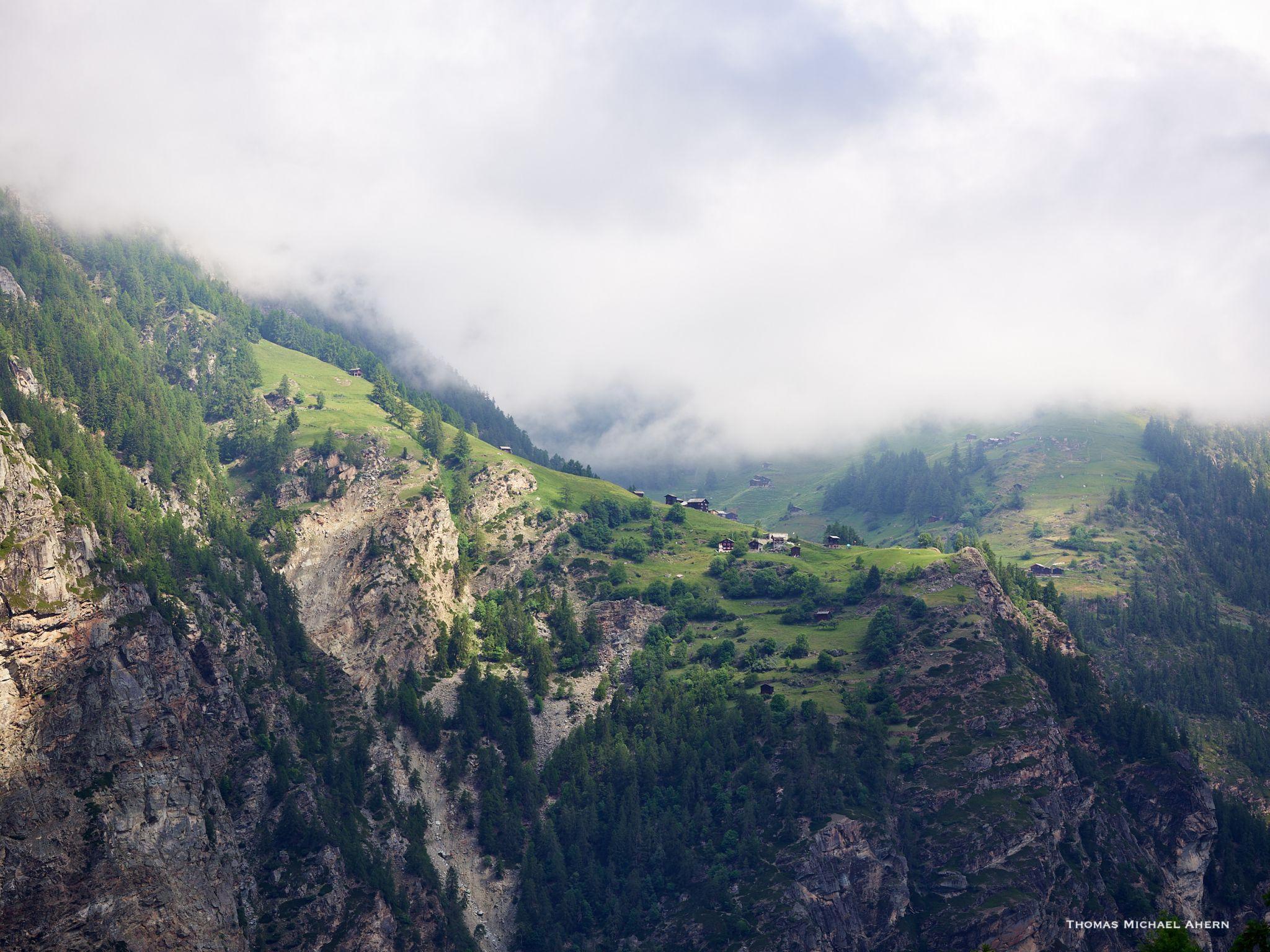 Nieder Grachen Overlook, Switzerland