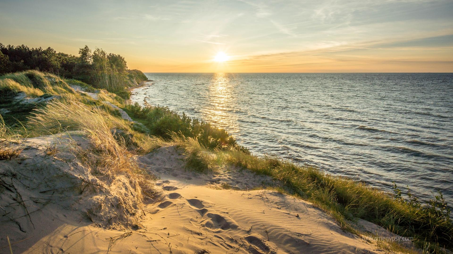 Northwest shore at Kreptitzer Heide, Germany