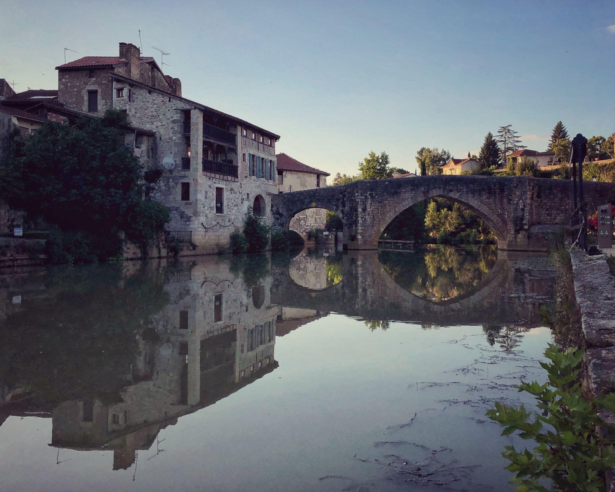 Pont-vieux de Nérac, France