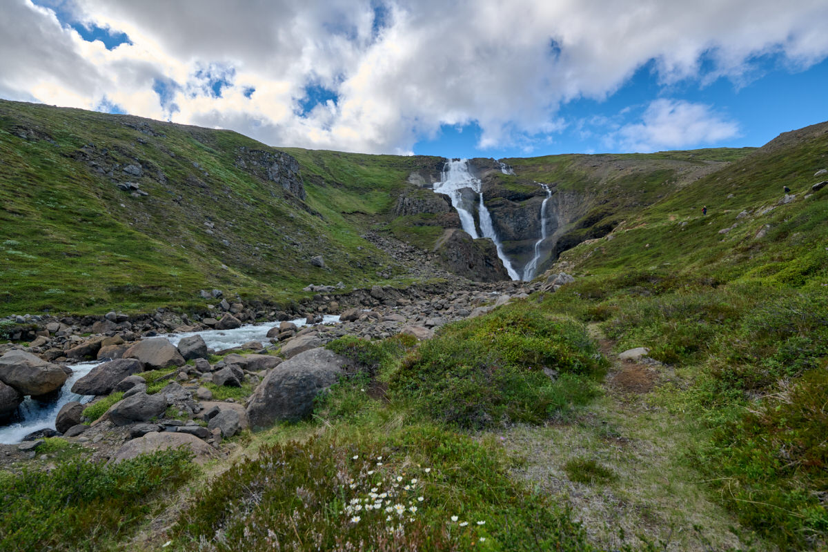 Rjukandi Waterfall, Iceland, Iceland