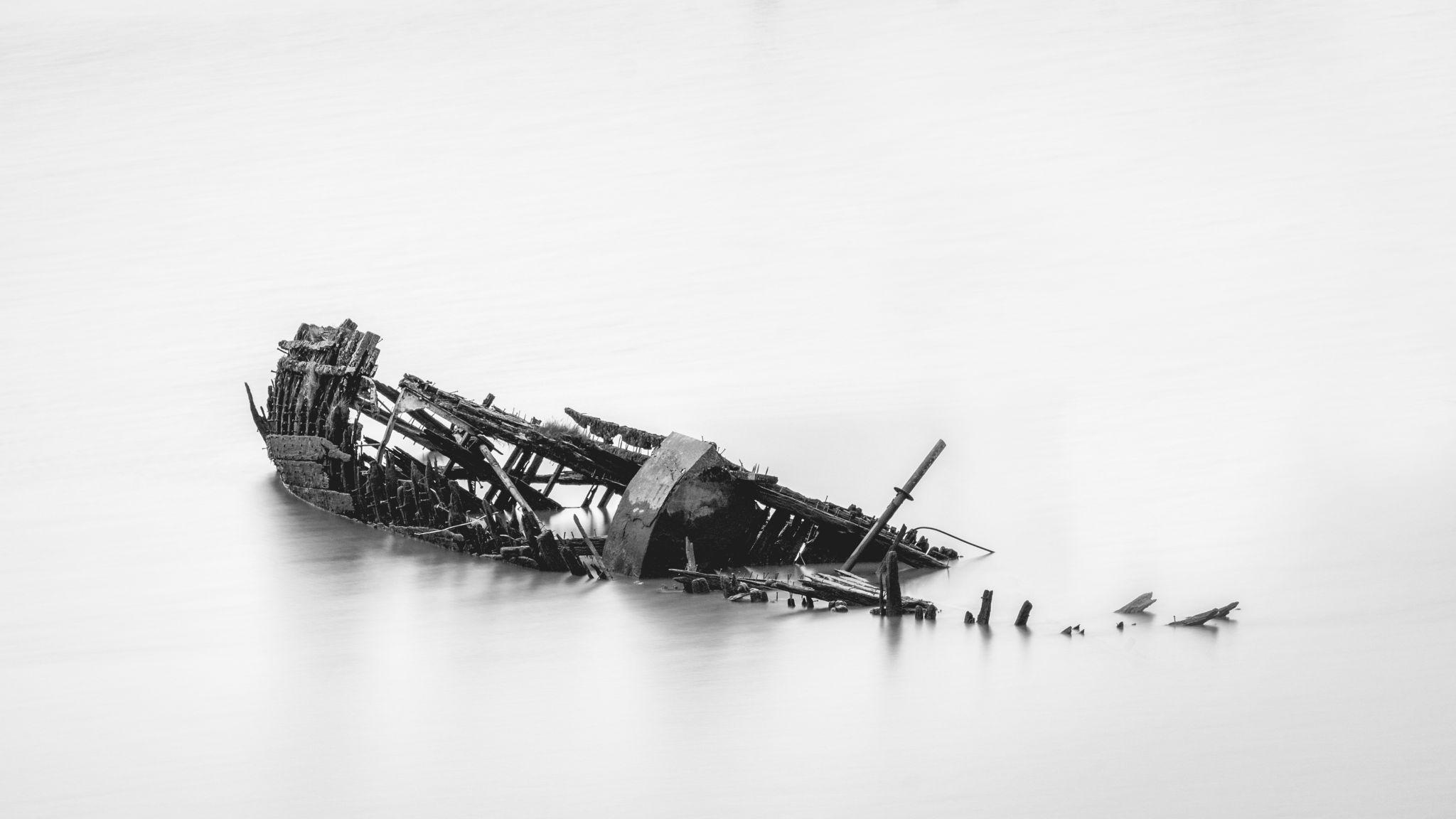 shipwreck, Germany