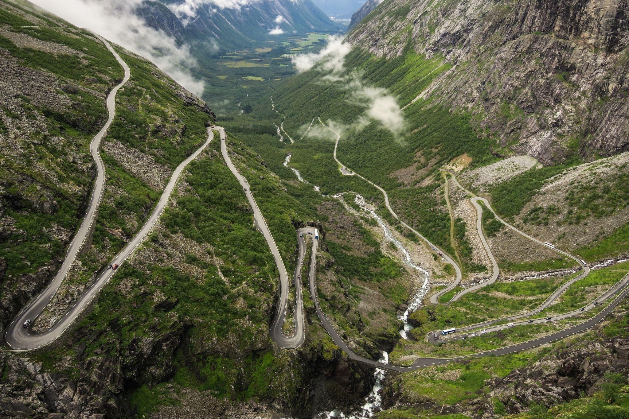 Trollstiegen, Norway