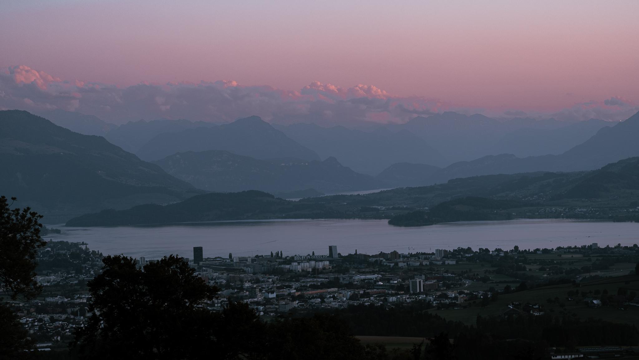 Rigi-Pilatus-Zug-View, Switzerland
