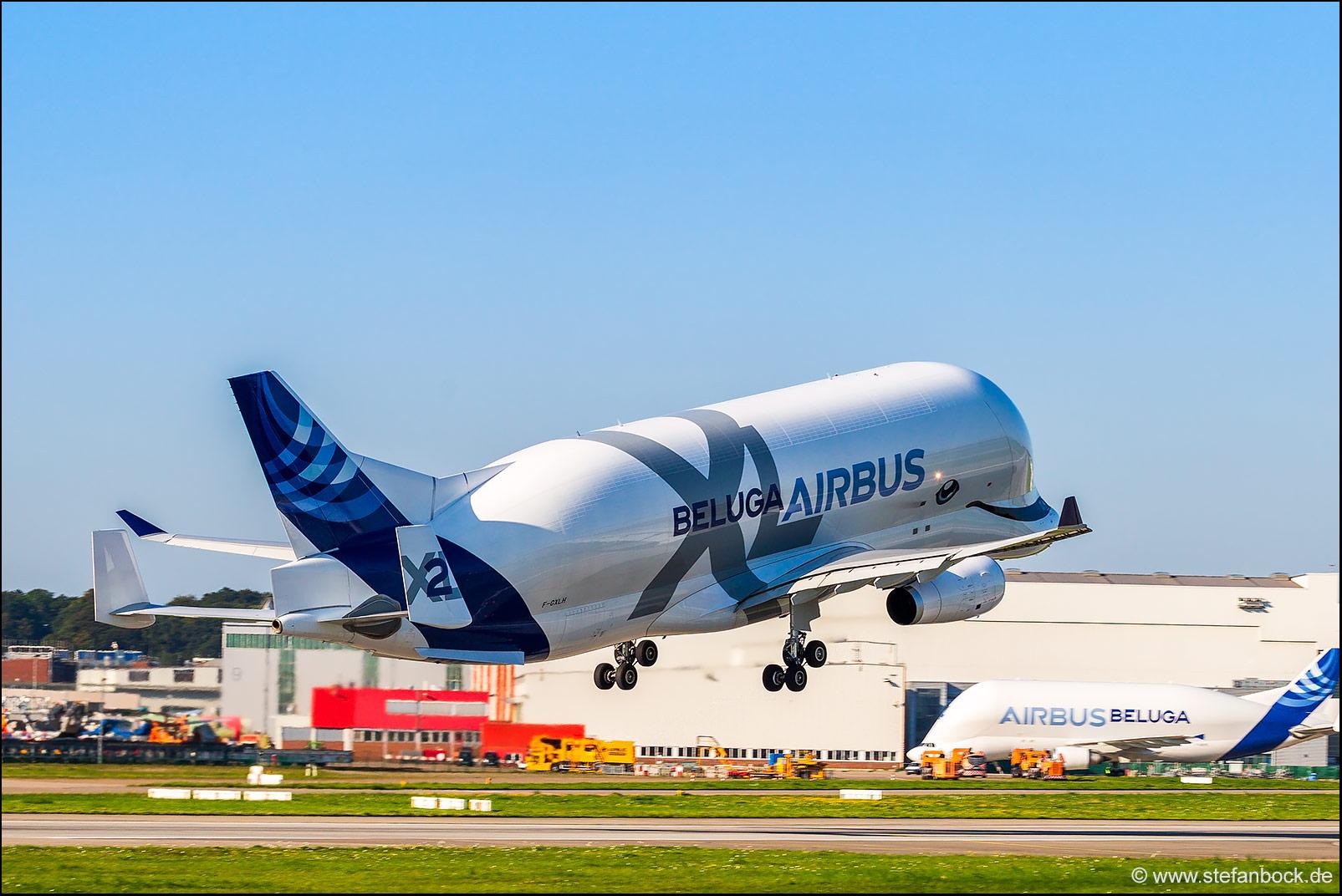 Airbus Airport Hamburg Finkenwerder, Germany