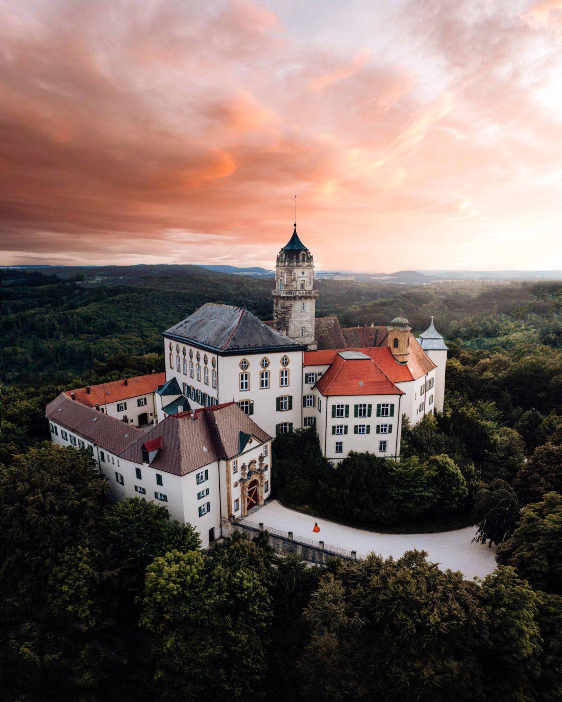 Baldern Castle [Drone], Germany