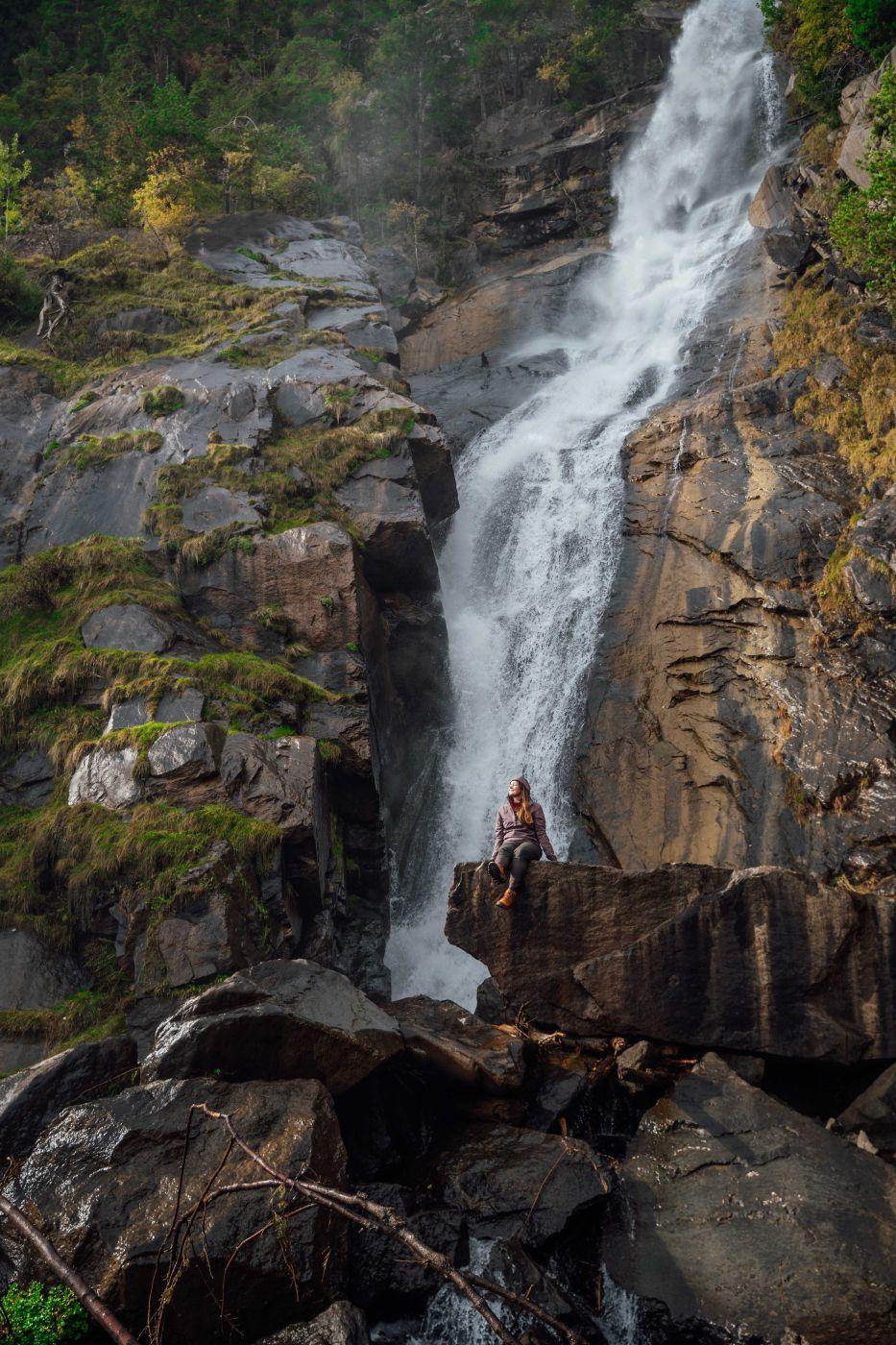 Barbian waterfall, Italy