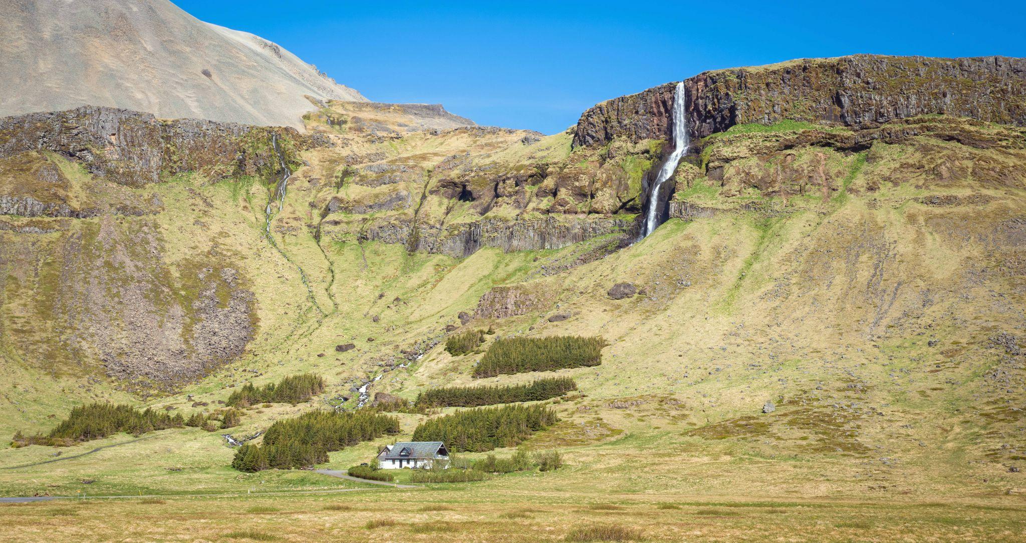 Bjarnarfoss, Iceland