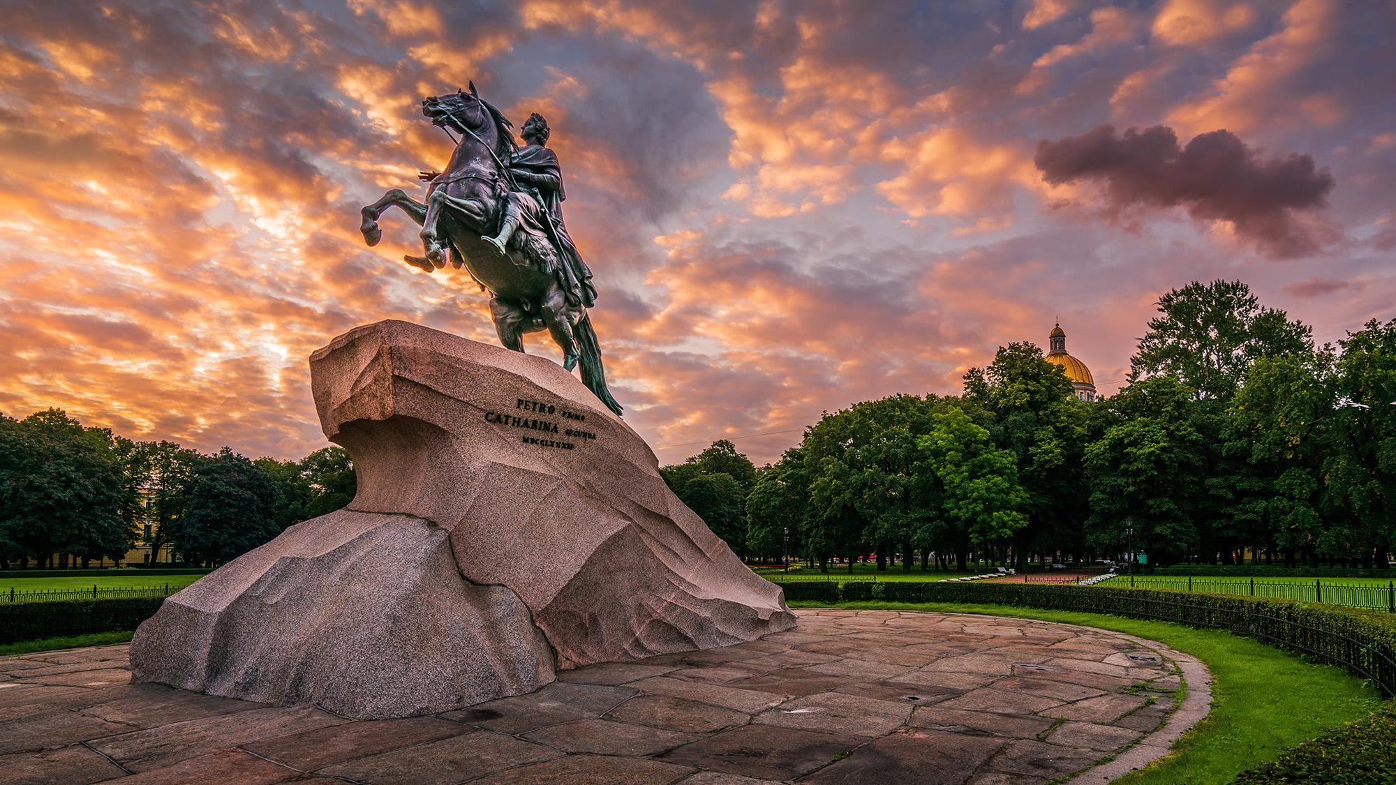 Bronze Horseman - Peter the Great Statue, Russian Federation