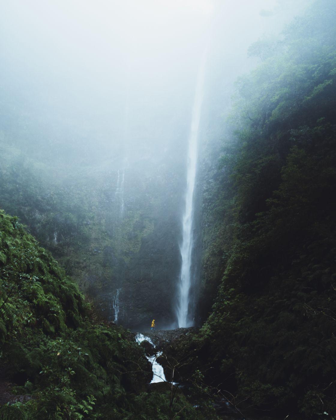 Caldeirão Verde waterfall, Portugal