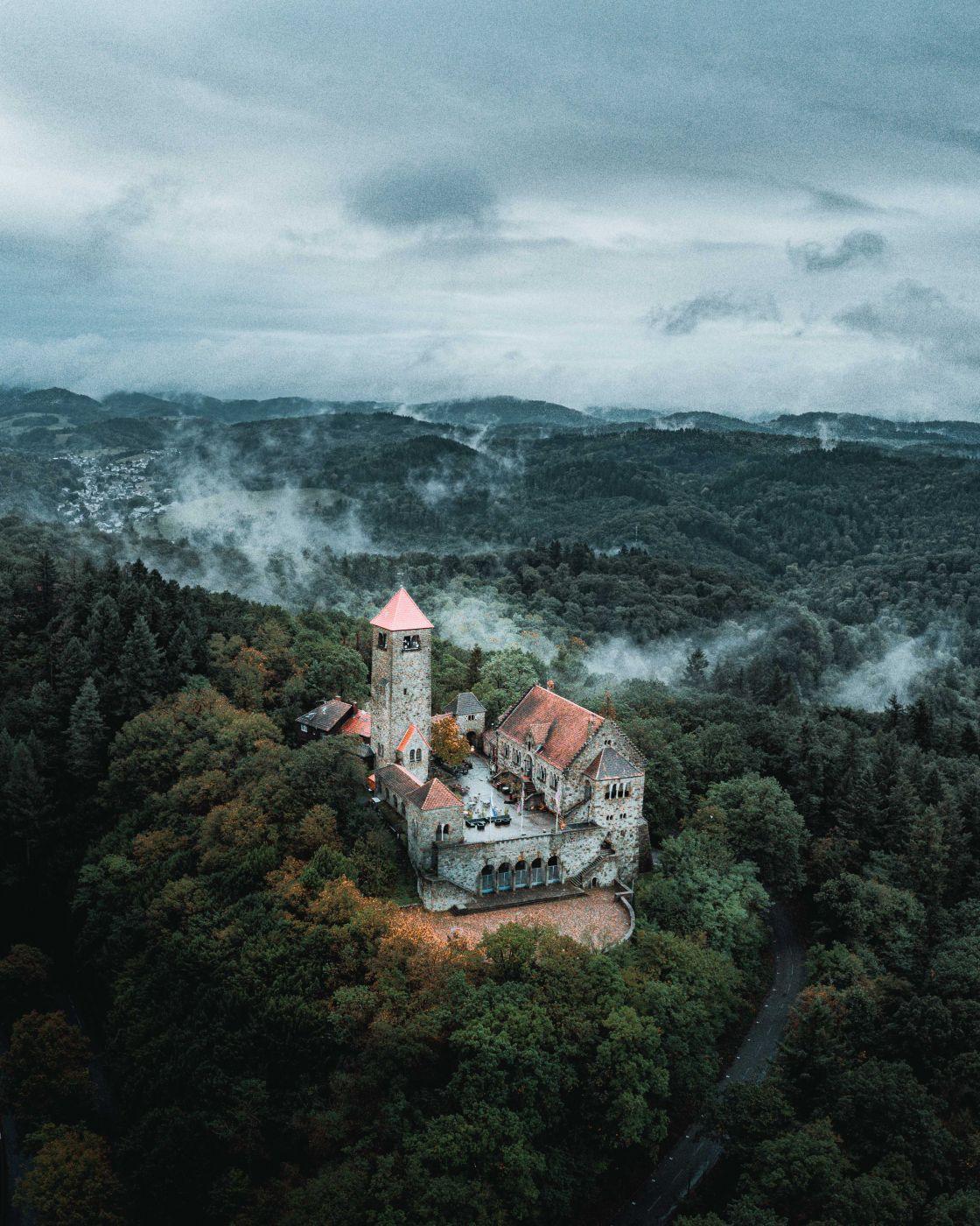 Castle Wachenburg [Drone], Germany