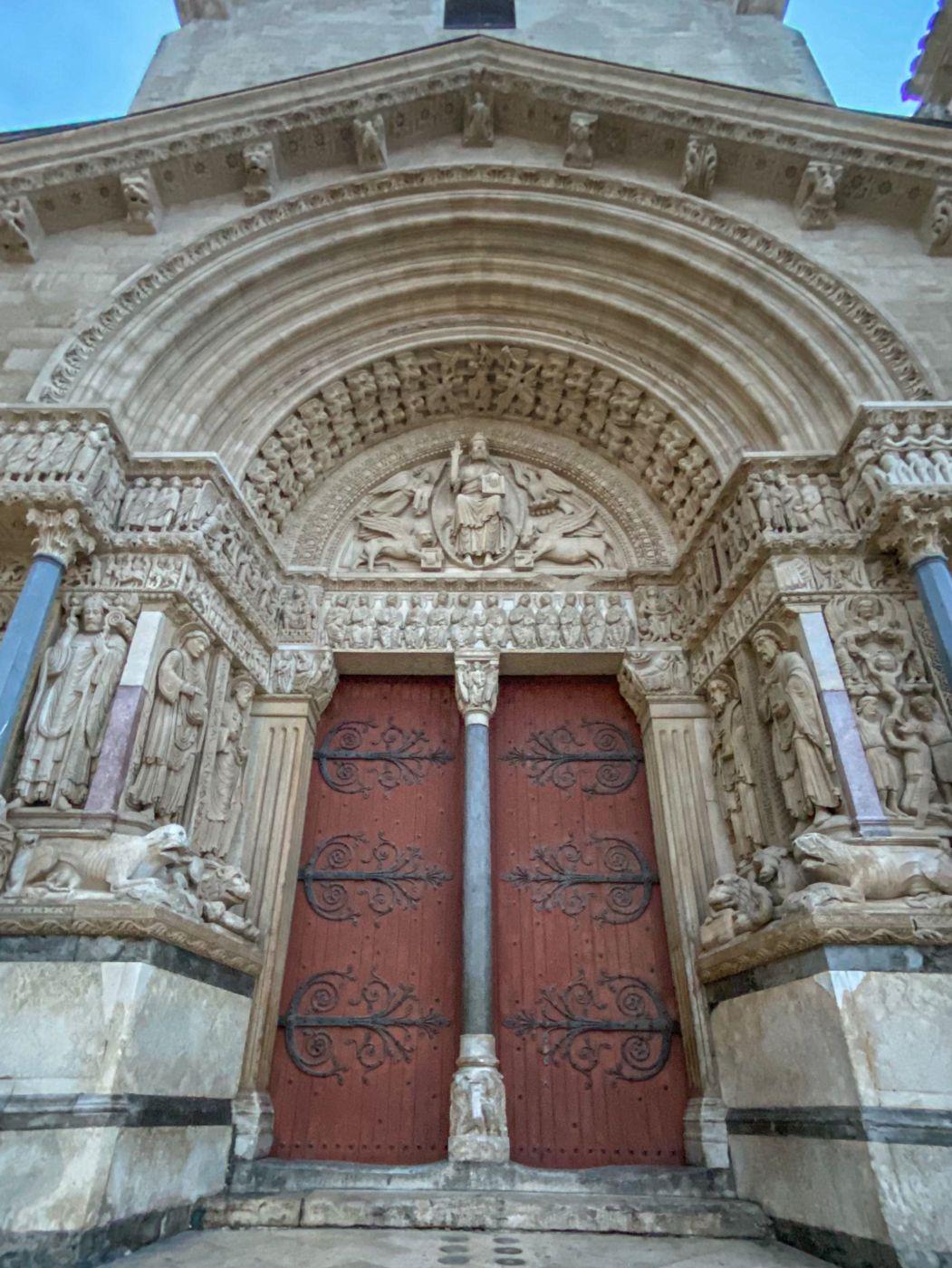 Cathédrale Saint-Trophime, France