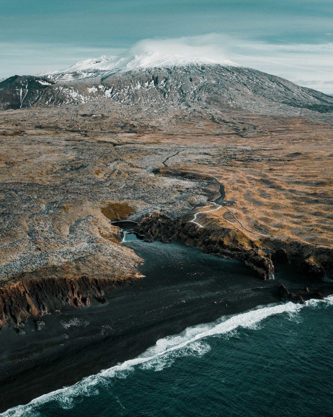 Djúpalónssandur [Drone], Iceland