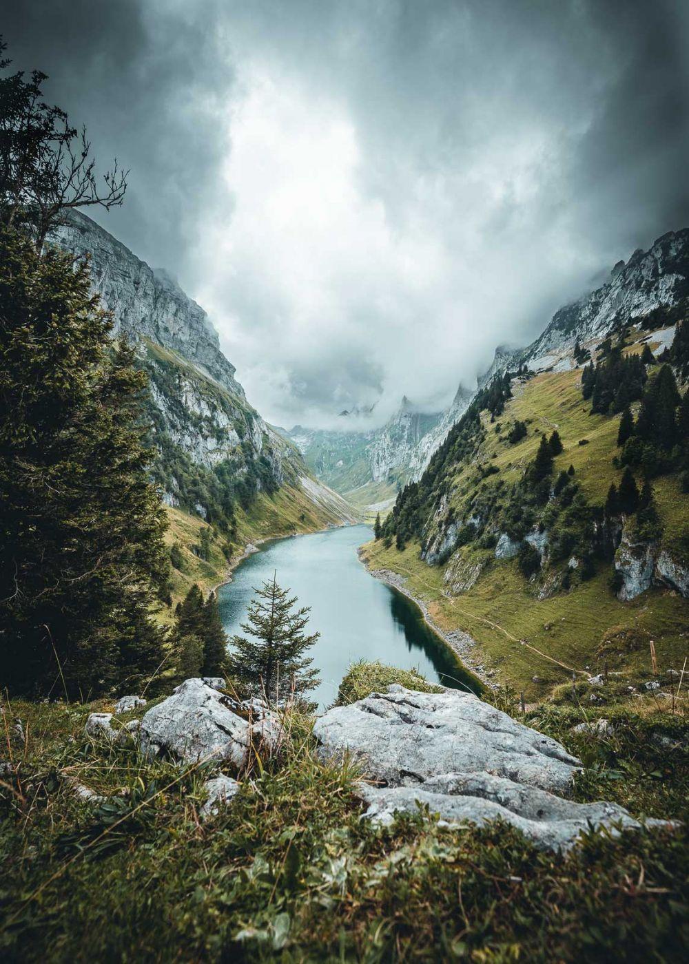 Fälensee, Appenzell, Switzerland, Switzerland