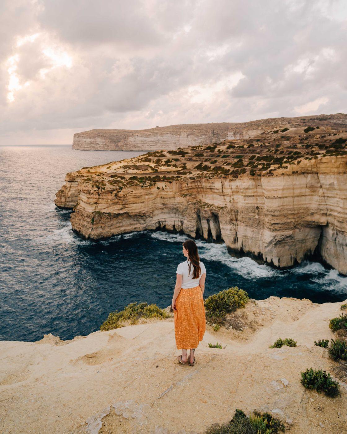 Falesie di Gozo, Malta